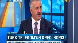 Ahmet Arslan, NTV canlı yayın konuğu oldu