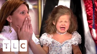 Feisty 3 Year Old Has On-Stage Meltdown During Pageant Crowning | Toddlers & Tiaras