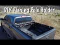 DIY - Fishing Pole Holder