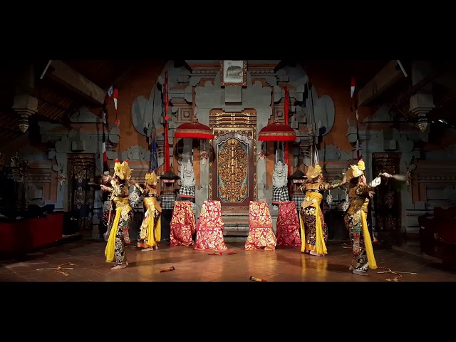Legong kuntir Peliatan 2020 at Balerung Stage Bali