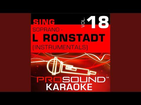 Blue Bayou (Karaoke Instrumental Track) (In the Style of Linda Ronstadt)