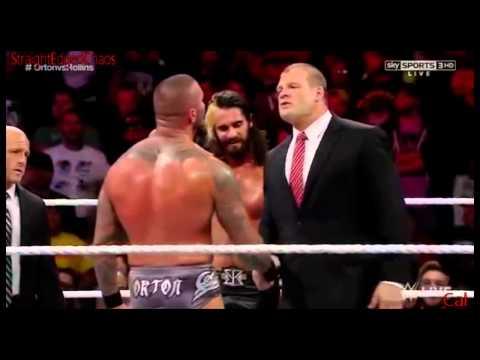 I wanna watch you burn [Randy Orton Vs Seth Rollins MV]