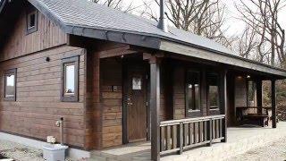 自然豊かな栃木県那須郡に佇むヨーロッパカントリーのログハウス。折れ...