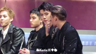[Fancam] 161202 Exo Sehun KAI discussing special stage and reaction to best dance solo @2016 MAMA