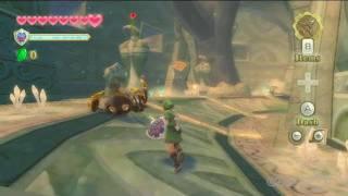 Legend of Zelda: Skyward Sword - Spiders Gameplay (Wii)