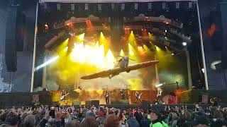 Iron Maiden Aces High Where Eagles Dare Sweden Rock  2018
