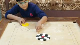CARROM Board Game|CARROM KING |BEST CARROM SHOT| |indoorgames| EASY TRICKS shots| HOW TO PLAY CARROM screenshot 4