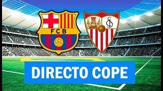 (SOLO AUDIO) Barcelona 6-1 Sevilla en Tiempo de Juego COPE