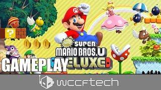New Super Mario Bros. U Deluxe Gameplay