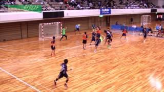 H26年 第23回JOCハンドボール大会広島VS大阪(ダイジェスト)(男子予選リーグ)