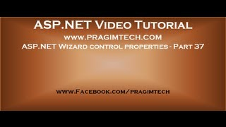 Asp net Wizard control properties   Part 37