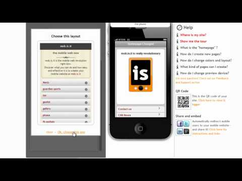How to build a mobile website: easy, fast and free with mob.is.it