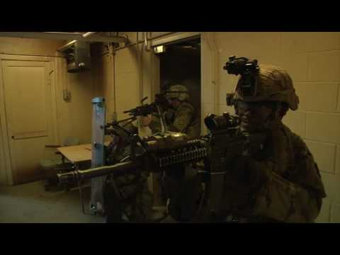 U.S. Army Engineers Conduct Underground Training