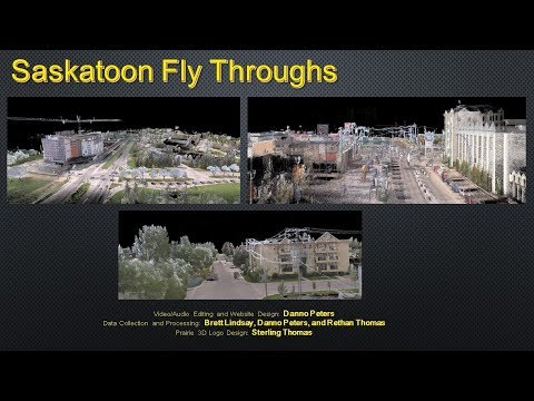 Saskatoon and Martensville Fly Throughs - LiDAR Scanning and 360 Imaging