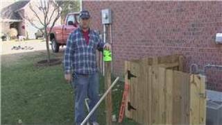 Home Improvement Projects : Installing A Wooden Fence