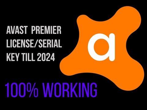Avast Premier 2018 License key till 2024  [ no crack or external link]