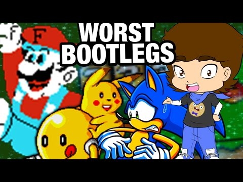 Top 6 WORST Bootlegs and Fan Games! - ConnerTheWaffle