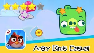 Angry Birds Casual Level 44-45 Walkthrough Sling birds to solve puzzles! Recommend index four stars
