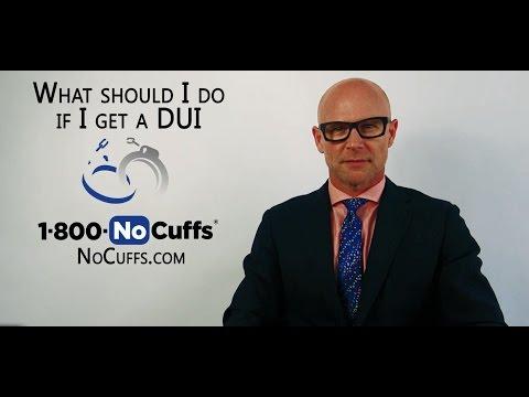 What should I do if I get a DUI?