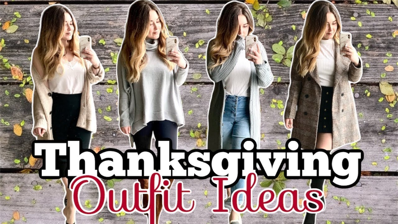 [VIDEO] - Thanksgiving Outfit Ideas 2019 | Holiday Outfit Inspiration 2019 | #ThanksgivingOutfitIdeas2019 7