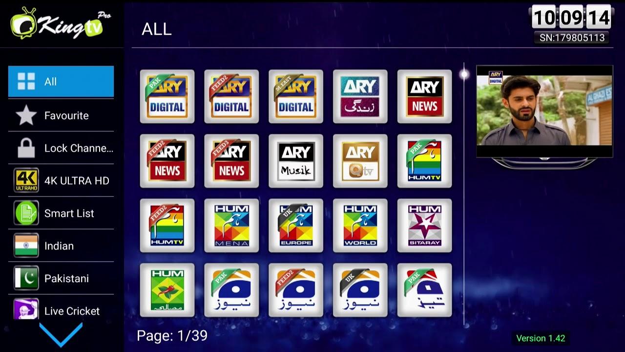 Best Indian King tv pro IPTV box