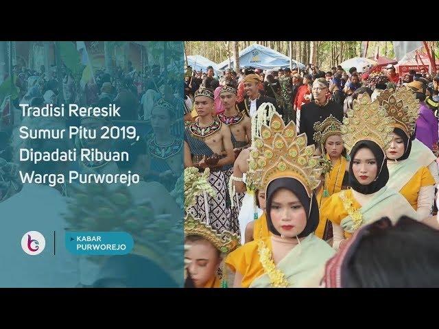 Tradisi Reresik Sumur Pitu 2019, Dipadati Ribuan Warga Purworejo