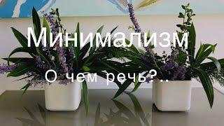 Минимализм как стиль жизни.. покупки, забота о планете, эстетика.. о чем он.. минимализм..?