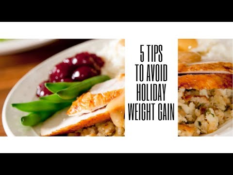 HOW TO AVOID HOLIDAY WEIGHT GAIN|5 TIPS | PERSONAL TRAINER ADVICE