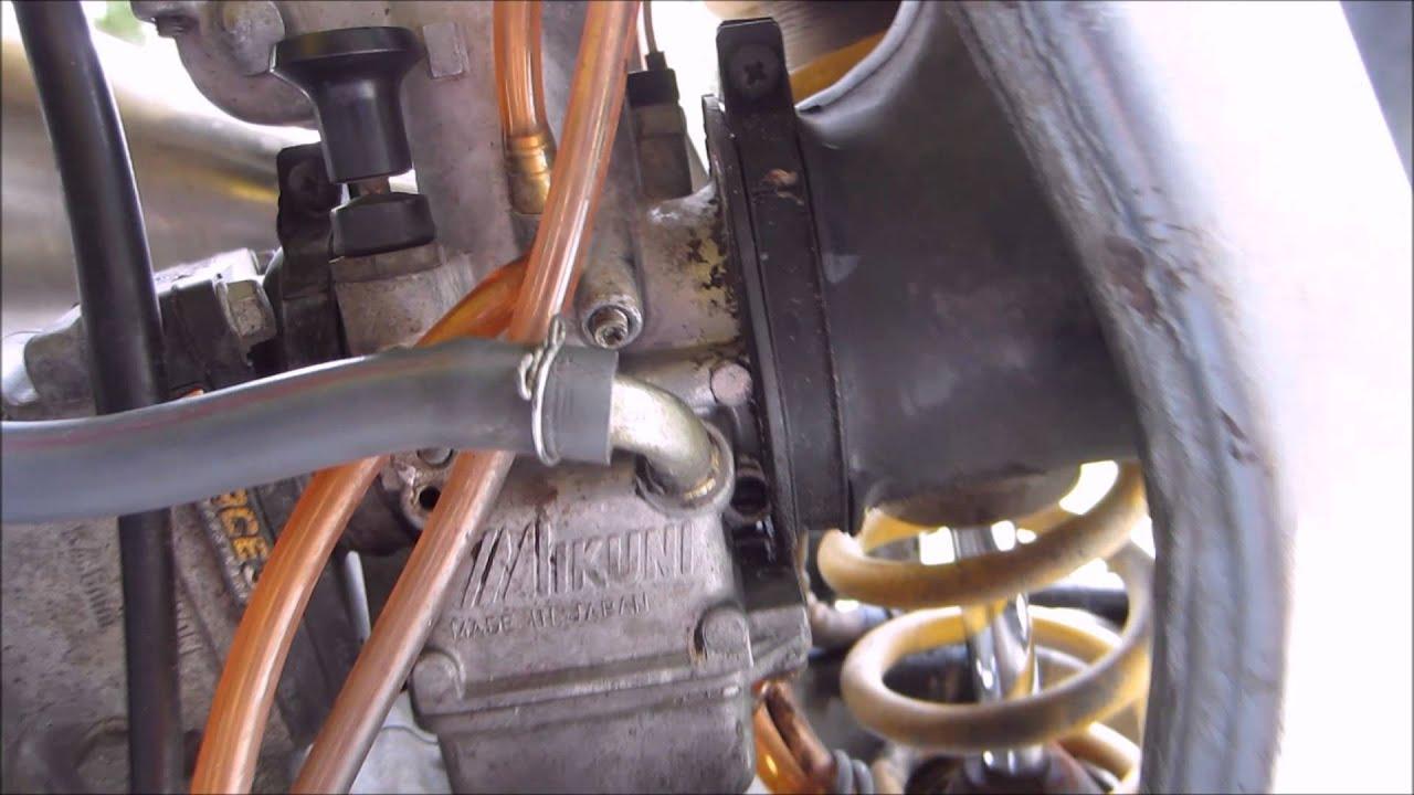 1997 Rm 250 Keihin Carburetor Diagram Just Wirings In Addition Honda Cv On 125 Idle Adjustment Youtube Rh Com Adjustments Kohler