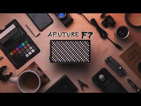 New Favorite Light For Video - Aputure F7 LED Light Review