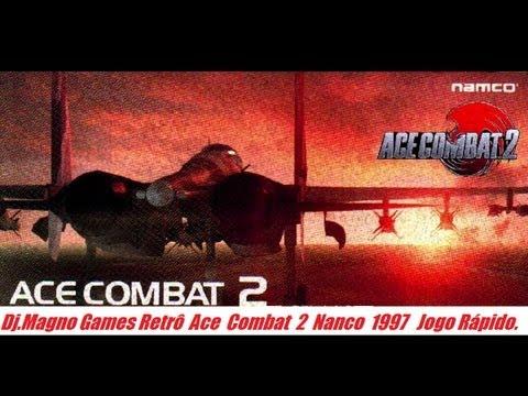 Ace Combat 2 Namco 1996 Playstation Jogo Rápido