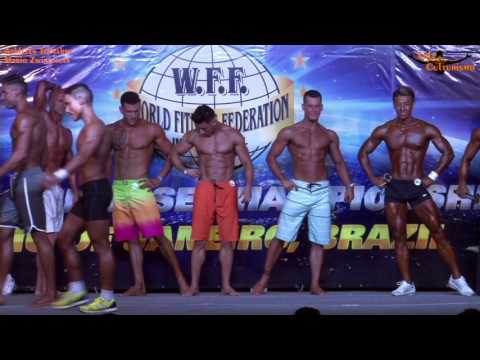 Mr Universe 2017 Mario Zwingmann as Men's Sports Model Pro - WFF Universe