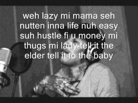 Vybz Kartel  Lyrics to Life Is What You Make It