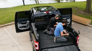 No Drop-In or Spray-In: We Chose a DualLiner Bedliner for Our 2021 Ford F-150 — Cars.com