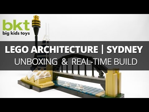 Lego Architecture Sydney Skyline 21032 – Unboxing , Review, and Real-Time Build