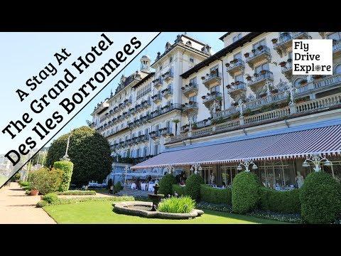 The Grand Hotel Des Iles Borromees, Stresa, Lake Maggiore