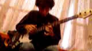 Бас гитара, тепинг - К Элизе (Бетховен)