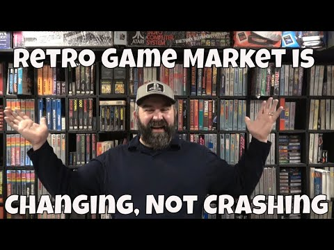 Retro Video Game Market is Changing, Not Crashing