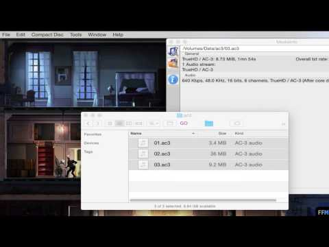 Convert AC3 to MP3 (batch processing) Free on Mac