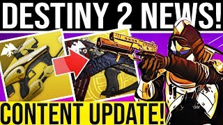Baixar Destiny 2. CONTENT UPDATE! Empyrean Tease, D1 Exotic, Ada Rare Bounty Fix, Exotic Rewards, Hotfix