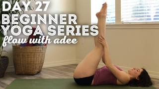 DAY 27/30 Beginner Yoga Series | Let Go