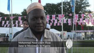 Jalsa Salana UK 2012: Interview with Worldwide Ahmadiyya Missionaries (English)