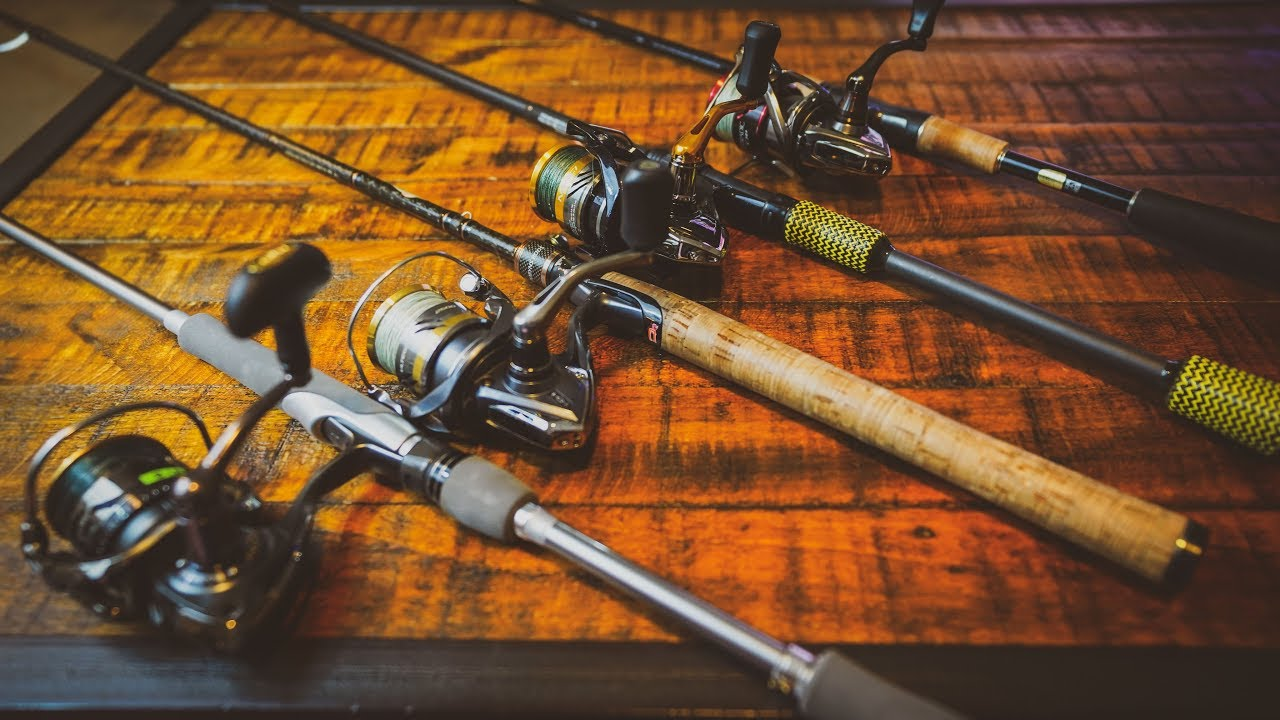 Top 7 Spinning Rods of 2018 - Buyer's Guide - YouTube