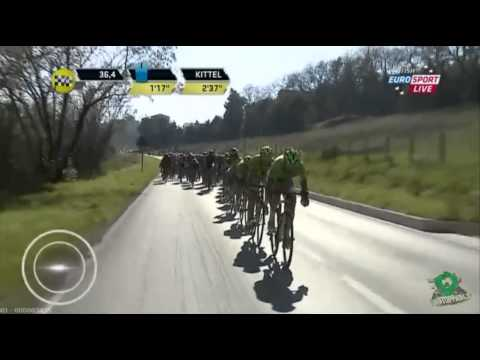Stage 6 - Tirreno-Adriatico 2014 - team Cannondale at work