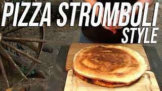 Large Pizza Stromboli Style Recipe By The Bbq Pit Boys
