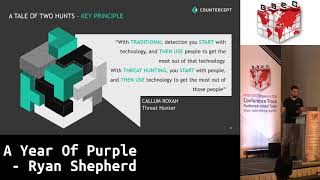 #HITBGSEC 2018 D1: A Year Of Purple - Ryan Shepherd