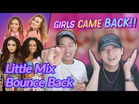 K-pop Artist Reaction Little Mix - Bounce Back