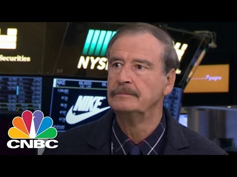 Fmr. Mexican President Vicente Fox: President Trump Can Build His Walls, They Don't Work | CNBC