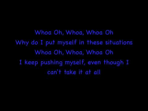 Whoa Oh! by Forever The Sickest Kids Lyrics On Screen