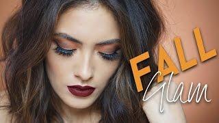 Orange and Brick Red Fall Makeup Look | Melissa Alatorre